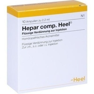 HEPAR COMP.Heel Ampullen
