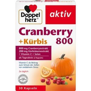 Abbildung von Doppelherz Cranberry + Kürbis  Kapseln