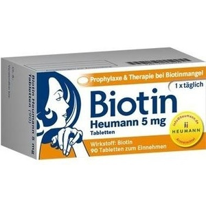 BIOTIN HEUMANN 5 mg Tabletten