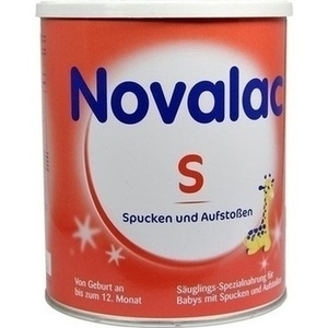 NOVALAC S Spezialnahr.b.Spucken Aufst.0-12 M.