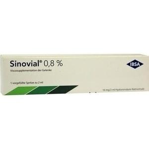 Sinovial 0,8% 2ml Fertigspritzen