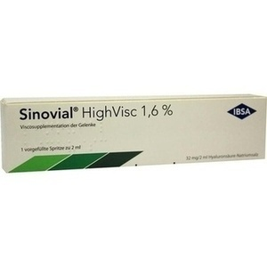 Sinovial Highvisc 1,6% 2ml Fertigspritzen