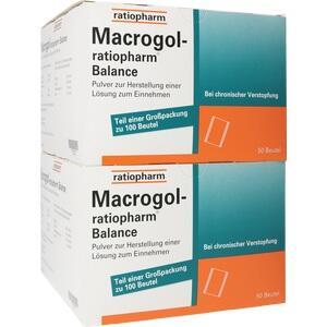 MACROGOL-ratiopharm Balance Plv.z.H.e.L.z.Einn.