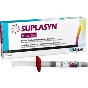 Suplasyn 20 mg/2 ml Fertigspritzen