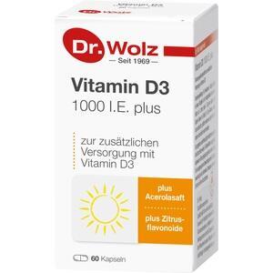 VITAMIN D3 1.000 I.E. plus Dr.Wolz Kapseln