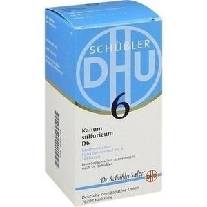 Biochemie Dhu 6 Kalium Sulfuricum D6 Tabletten