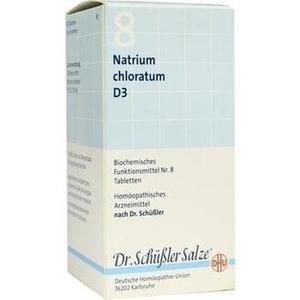 BIOCHEMIE DHU 8 Natrium chloratum D 3 Tabletten
