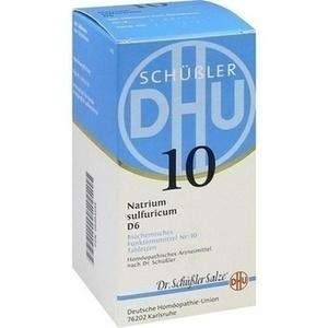 BIOCHEMIE 10 NATR SULF D 6