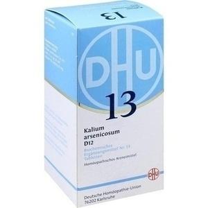 Biochemie Dhu 13 Kalium Arsenicosum D12 Tabletten
