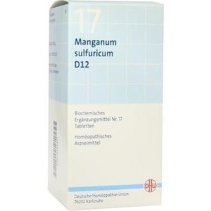 BIOCHEMIE 17 MANG SULF D12
