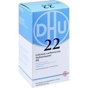 BIOCHEMIE 22 CALC CARB D 6