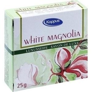 KAPPUS white magnolia Gästeseife Warenprobe