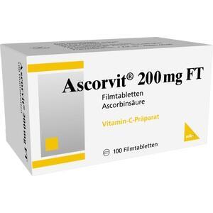 ASCORVIT 200 mg FT Filmtabletten