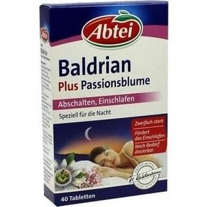 ABTEI Baldrian plus Passionsblume überz.Tabl.