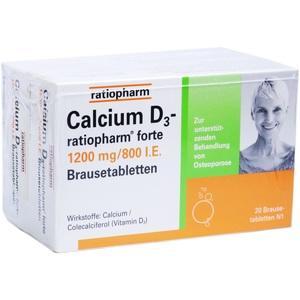 CALCIUM D3-ratiopharm forte Brausetabletten