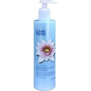 CLAIRE FISHER Natural Classic Wasserlilien Bodylotion