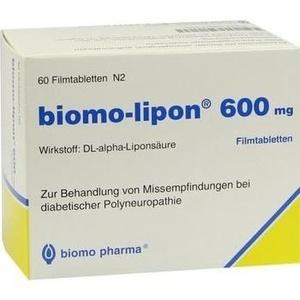 BIOMO LIPON 600 tablete filmate