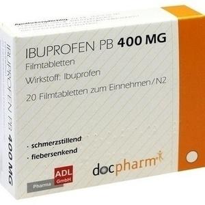 IBUPROFEN PB 400 mg Filmtabletten
