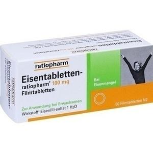 EISENTABLETTEN-ratiopharm 100 mg Filmtabletten