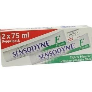 SENSODYNE F Fluorid Zahncreme Doppelpack