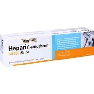 HEPARIN-RATIOPHARM 60.000 Salbe