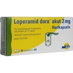 LOPERAMID dura akut 2 mg Hartkapseln