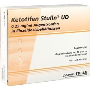 KETOTIFEN Stulln UD Augentropfen Einzeldosispip.