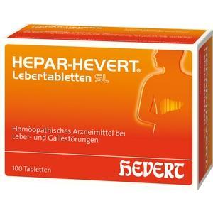 HEPAR HEVERT Lebertabletten SL