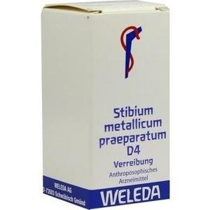 STIBIUM MET. PRAEPARATUM D 4 Trituration