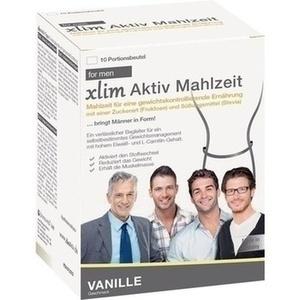 XLIM Aktiv Mahlzeit for men Vanille Pulver