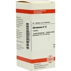 ABROTANUM D 12 Tabletten