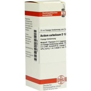 ACIDUM CARBOLICUM D 12 Dilution