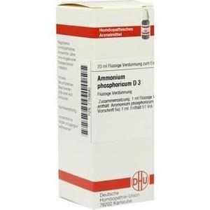 AMMONIUM PHOSPHORICUM D 3 Dilution