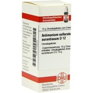 ANTIMONIUM SULF AURANT D12