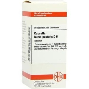 CAPSELLA BURSA pastoris D 6 tablete
