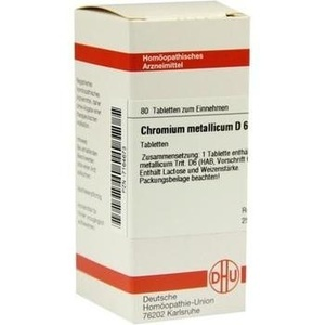 CHROMIUM METALLICUM D 6 Tabletten