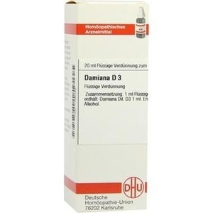 DAMIANA D 3 Dilution