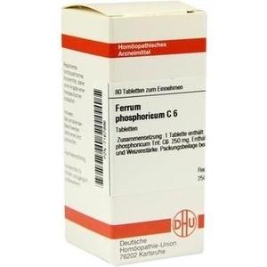 FERRUM PHOSPHORICUM C 6 Tabletten