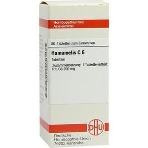 HAMAMELIS C 6 Tabletten