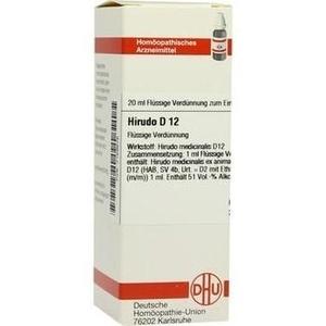 HIRUDO D 12 Dilution