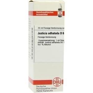 JUSTICIA adhatoda D 6 Dilution