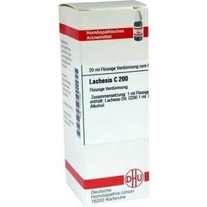 LACHESIS C 200 Dilution