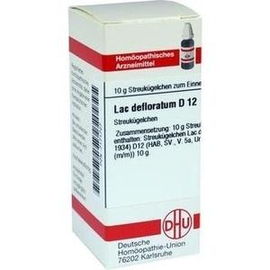 LAC DEFLORATUM D 12 Globuli