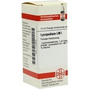 LM LYCOPODIUM I Dilution