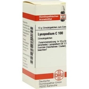 LYCOPODIUM C 100 Globuli