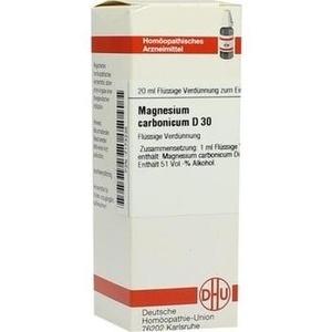 MAGNESIUM CARBONICUM D 30 Dilution