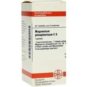 MAGNESIUM PHOSPHORICUM C 6 Tabletten