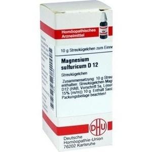MAGNESIUM SULFURICUM D 12 Globuli