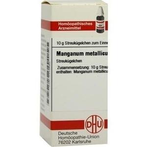 MANGANUM METALLICUM C 30 Globuli