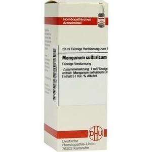 MANGANUM SULFURICUM D 12 Dilution